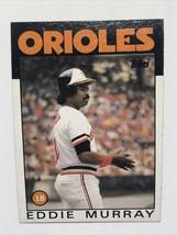 Eddie Murray 1986 Topps #30 Baltimore Orioles MLB Baseball Card - $1.39