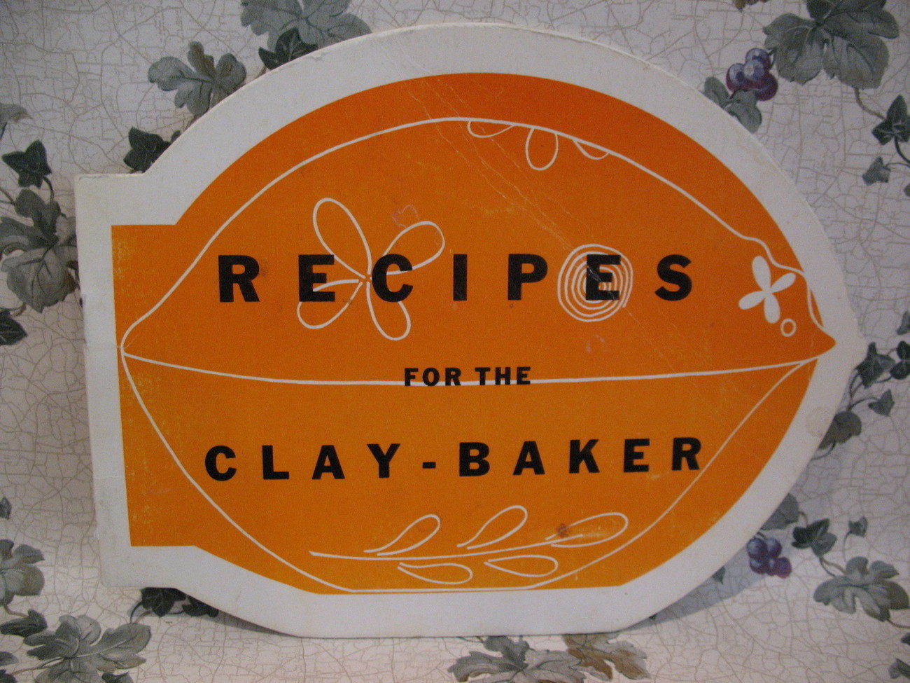 Primary image for Clay Baker Recipes Cookbook Vintage Collector Fatless Cooking Collectible