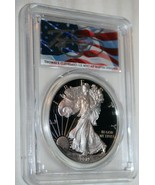 2019-W PCGS PR70 Silver American Eagle First Day Of Issue  - $224.36