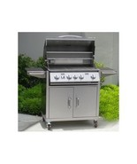 Urban Islands 4-burner Barbeque Cart,BBQ,Gas Grills,Outdoor Kitchen, BBQ... - $1,794.99
