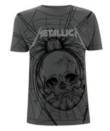 Grey Metallica Spider James Hetfield Official Tee T-Shirt Mens Unisex - $24.99