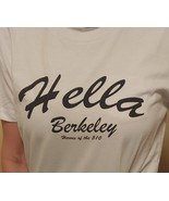HELLA BERKELEY CLOTHING™  WOMEN'S WHITE JERSEY T-SHIRT - $16.99+