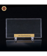 WR Bank Note Money Holder US Dollar Banknote Size Display Frame For Coll... - $5.99