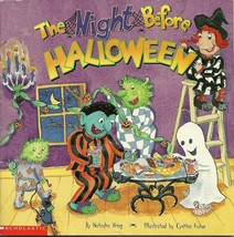 Night Before Halloween by Natasha Wing Softcover Book 2001 - $1.99