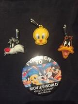 3 Lot Loony Tunes Movie World Gold Coast Australia Clip-Ons Tweety Daffy... - $26.99