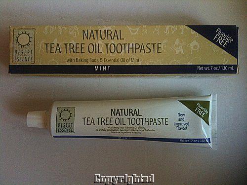 Desert essense tee tree toothpaste 1