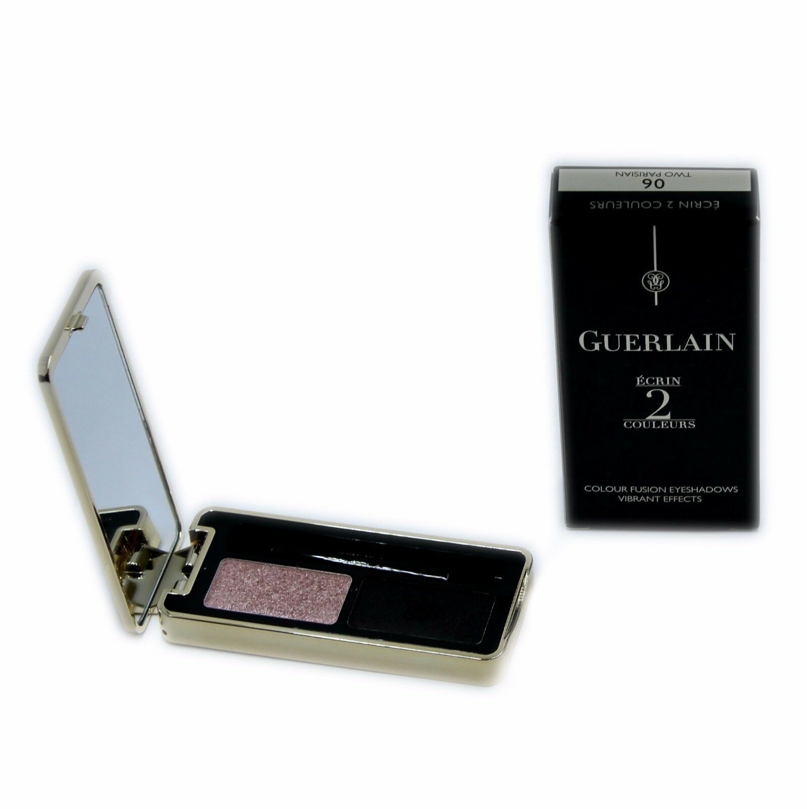 Primary image for GUERLAIN ECRIN 2 COULEURS COLOUR FUSION EYESHADOWS EFFETS VIBRANTS 4G #06-G41392