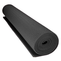 Gym Exercise Mat, 3mm Compact Black Yoga Pilates Non-slip Exercise Mat Gym - $32.99