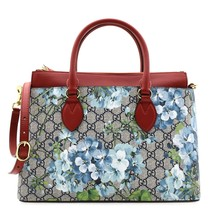 Gucci Blooms GG Supreme Tote Bag New - $1,080.00