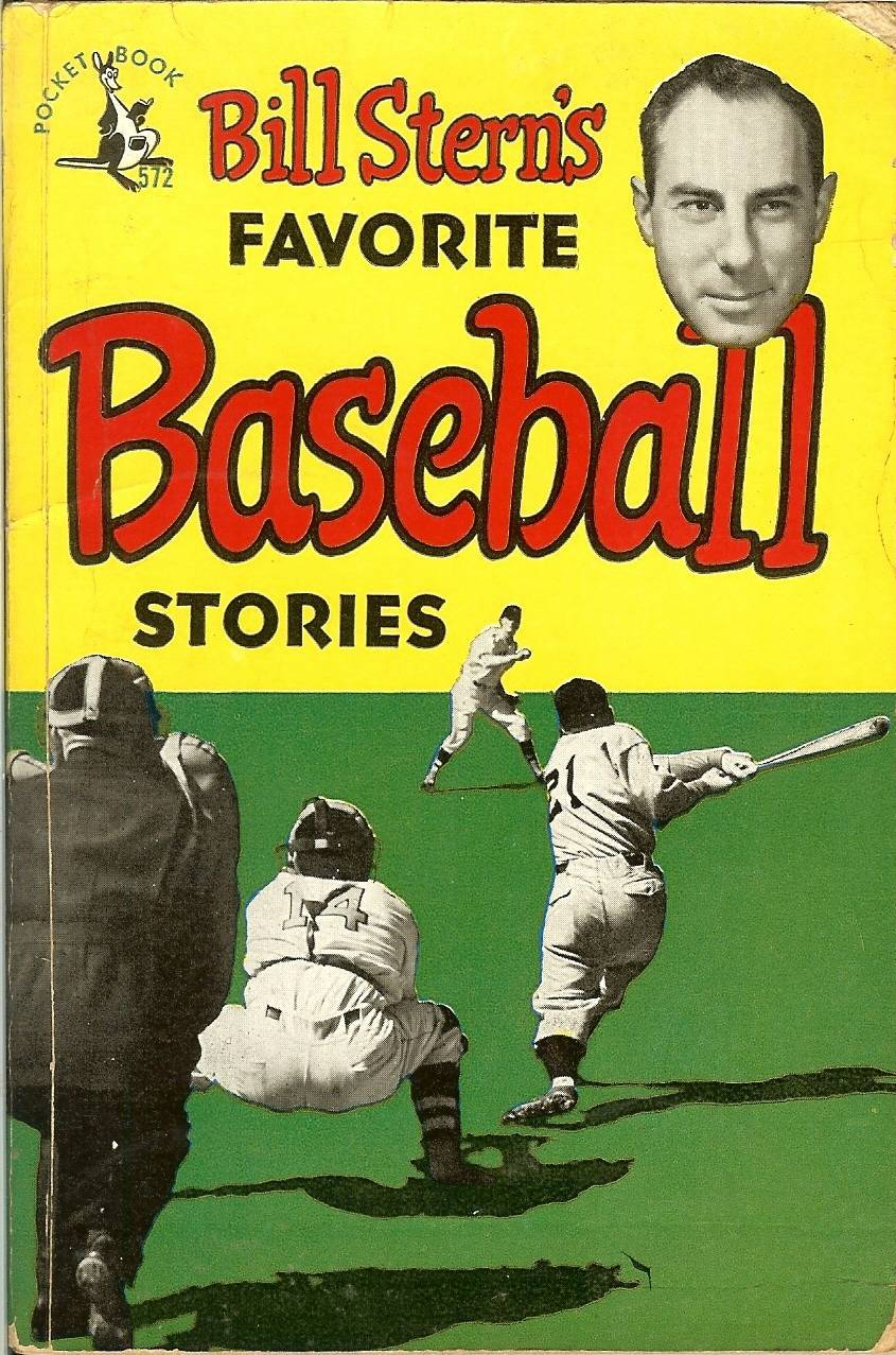 1949 bill stern's baseball stories book 1st edition rare paperback