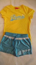 Puma girls large short outfit - $11.75