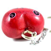 Tabaka Chigware Hand Carved Kisii Soapstone Red Heart Stone Keychain image 4