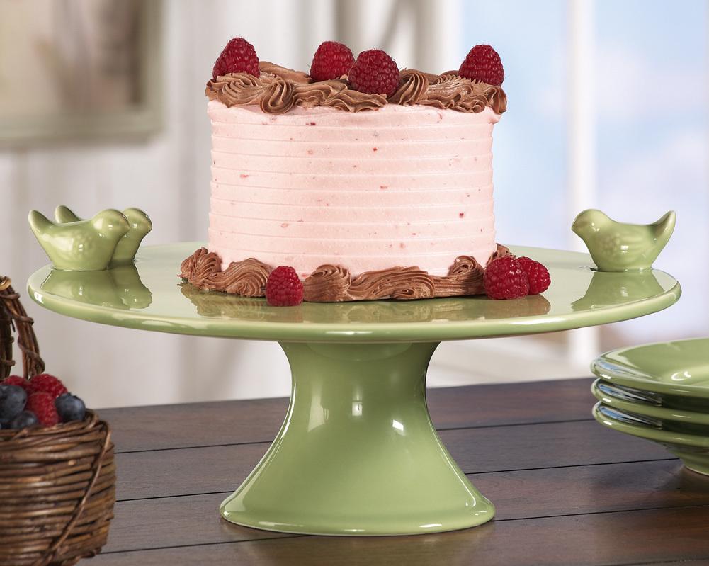 Vintage Ceramic Cake Server