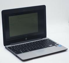 HP Chromebook 11 G5 Chrome OS Intel Celeron N3060 2GB RAM - $118.80