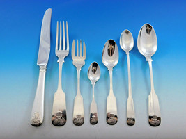 Sheaf of Wheat by Durgin Gorham Sterling Silver Flatware Set Service 59pc Dinner image 1