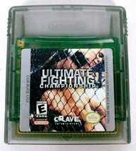 Ultimate Fighting Championship (Nintendo Game Boy Color, 2000) *WORKS* - $9.90