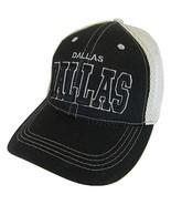Dallas Solid Front Air Mesh Back Adjustable Baseball Cap (Black/Gray) - $12.95