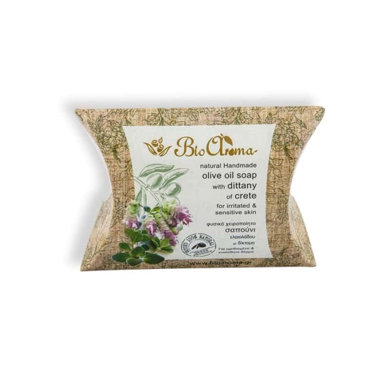 Handmade olive oil dittany soap 90gr. soap against skin irritation