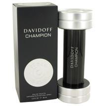 Davidoff Champion by Davidoff Eau De Toilette Spray 3 oz for Men #467830 - $31.61