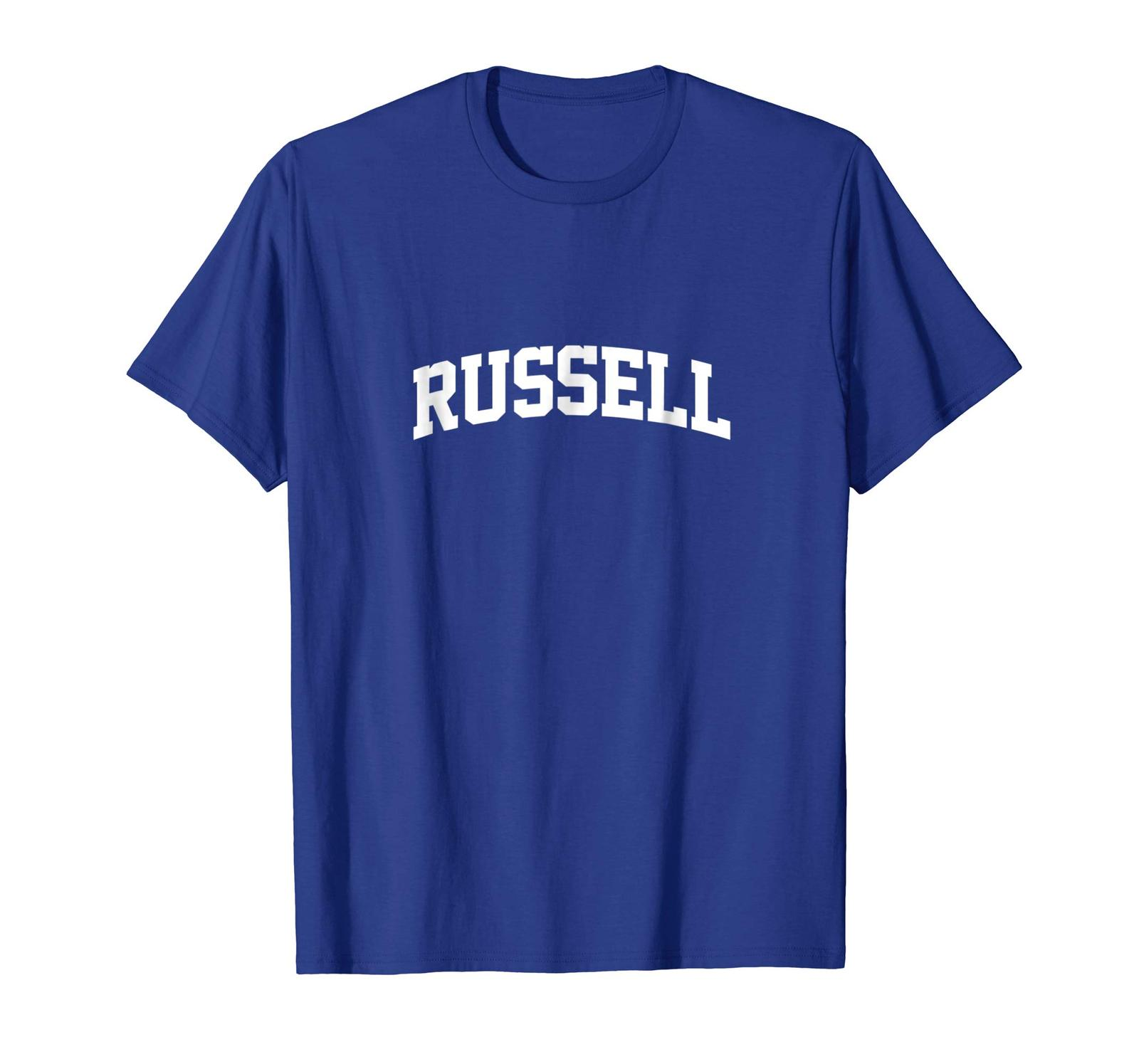 Funny Tee - Russell Family Name Russell T-Shirt Men