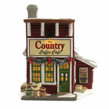 Department 56 House The Country Coffee Cafe Country Living Christmas BRA... - $177.43