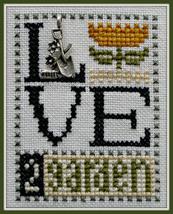 Love 2 Garden Love Bits cross stitch chart Hinzeit - $6.00