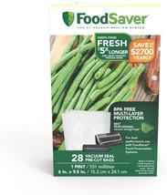 FoodSaver 1-Pint Precut Vacuum Seal Bags with BPA-Free Multilayer Constr... - €11,55 EUR