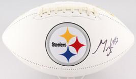 Maurkice Pouncey Signed Pittsburgh Steelers Logo Football JSA - $116.86