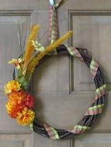 Wicker Fall Wreath - $15.00
