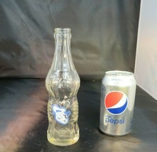 Rare ACL Donald Duck Art deco VIntage antique soda bottle (some fading) - $22.14