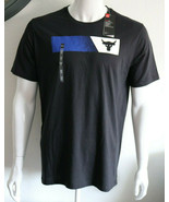 Under Armour Mens UA Project Rock Brahma Bull T-Shirt 1347699-001 Black NWT - $24.98