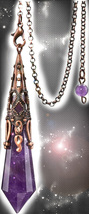 FREE W $99 ORDER 100X COVEN CHARGED  PENDULUM ANSWERS HIGH MAGICK WITCH ... - $0.00