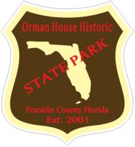 Orman House Historic Florida State Park Sticker R6773 - $1.45+