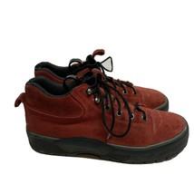 Women's Cole Haan Resort $120 Women's High Top Sneakers Size 8.5 B Red Black - $24.74