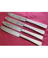 "Reed & Barton Stainless Ultra Select 4 Dinner Knives Porto Santo Stefano 9"" - $19.80"