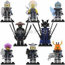 8pcs/set Ninjago Lord Garmadon The Shark Army Great White Minifigures Toy - $15.99