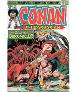 Conan The Barbarian Comic Book #45 Marvel Comics 1974 VERY FINE/NEAR MINT - $12.59