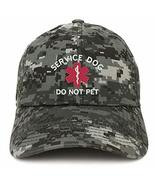 Trendy Apparel Shop Service Dog Do Not Pet Embroidered Brushed Cotton Ca... - $18.99