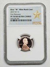 2019 W Lincoln Cent Proof NGC PF 70 RD ULTRA CAMEO FIRST RELEASES Coin