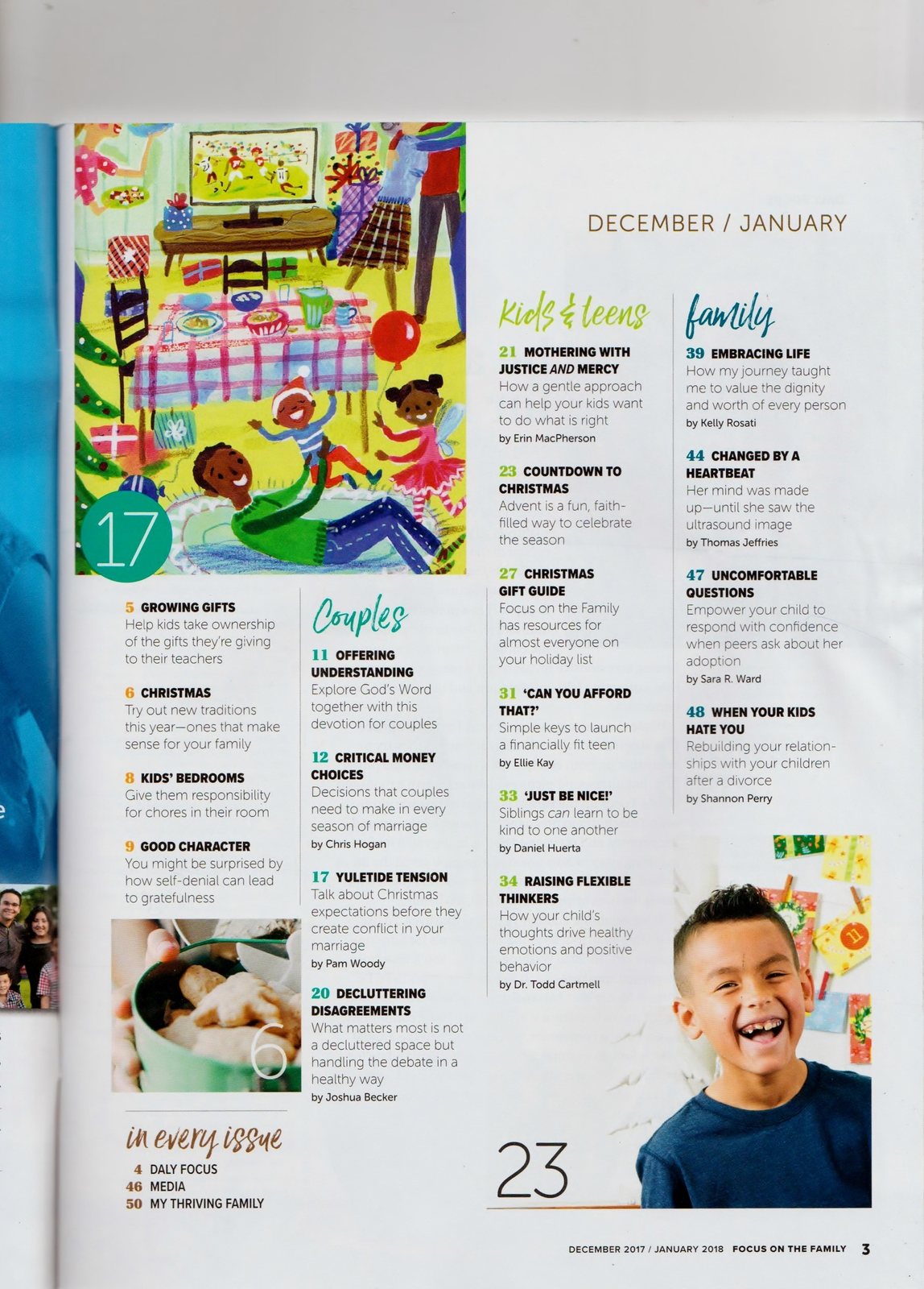 Focus on the Family December 2017 January 2018