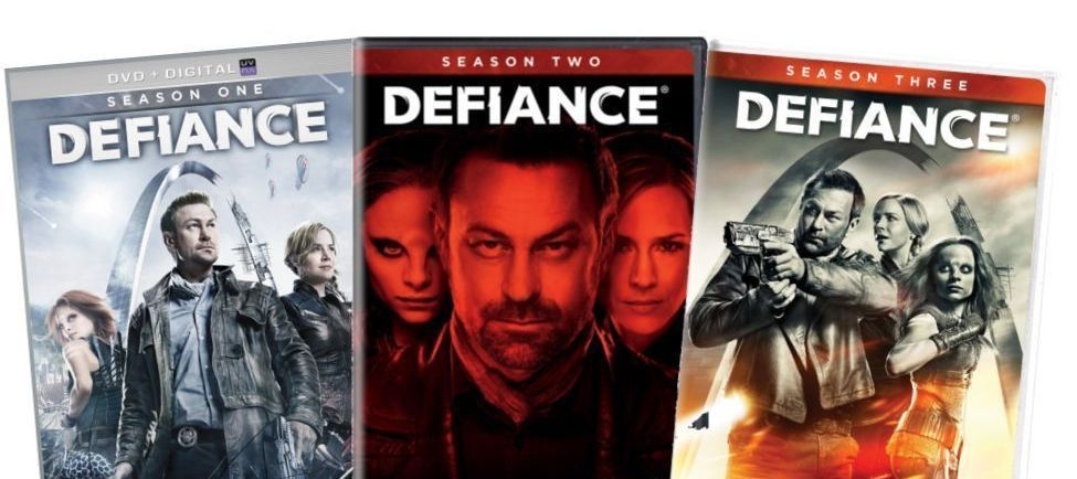 Defiance The Complete Series Seasons 1 2 & 3 [DVD Sets New] TV Show