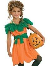 Girls Pumpkin Princess Costume Dress Small 4-6x - $19.98