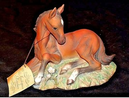Porcelain Filly Horse Figurine HOMCO 1982 MEXICOAA18-1348 Vintage image 2