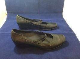 Clark's Active Air Women's Black Comfortable Casual Dress Shoes Sz 10M image 2