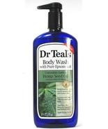 1 Ct Dr. Teal's Pure Epsom Salt Hemp Seed & Essential Oils Body Wash 24F... - $19.99
