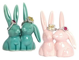 Beth Marie Luxury Boutique Bunny Rabbit Ring Holder 2-Pack, Adorable Pin... - ₹2,452.74 INR