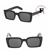 GUCCI 0539 Black Square Unisex Sunglasses GG0539S Authentic Shades 001 F... - $222.01