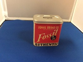 Authentic Fossil Brand Co Watch BOX tin -7859 BRC 0078 5/98 - $9.99