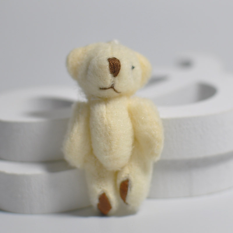 Primary image for 100Pc/Lot 4.5/6CM/7CM Mini Small Joint Teddy Bear Plush Toys,Cute Mini Joint Bea