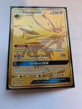 MINT Solgaleo GX 173/156 Secret Gold Pokemon Card TCG - $140.25